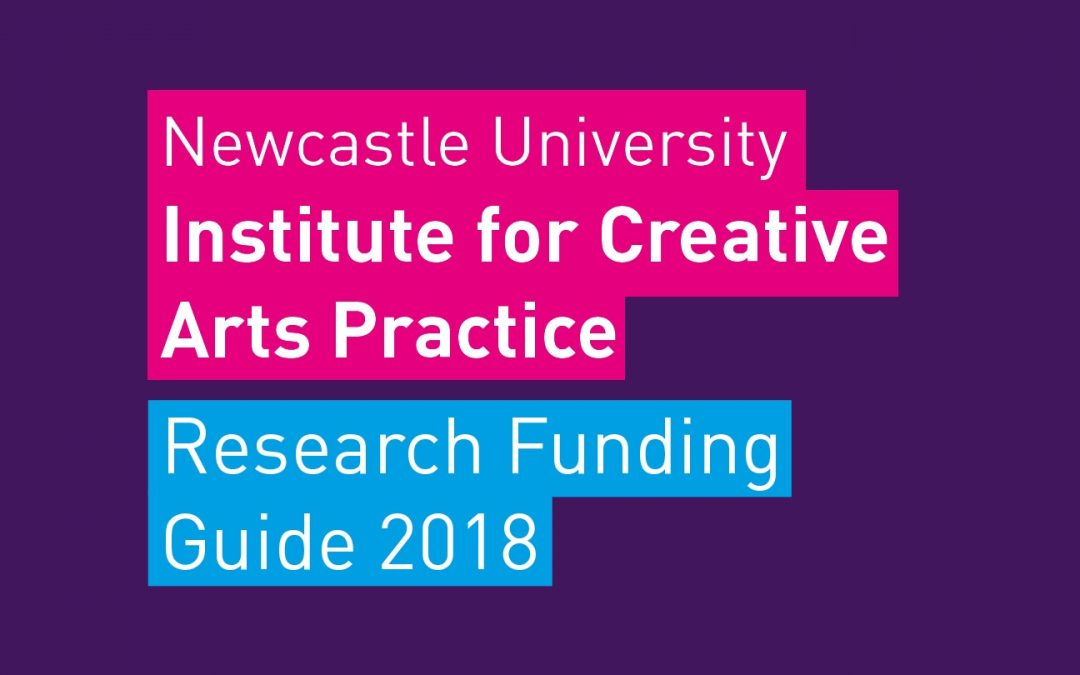 CREATIVE ARTS RESEARCH FUNDING GUIDE