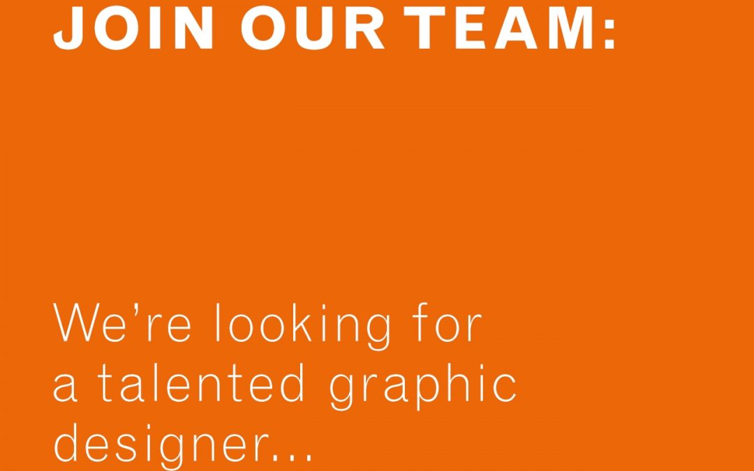JOIN OUR TEAM – DESIGNERS WANTED