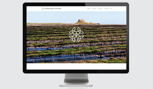 Website Refresh for Lindisfarne Oysters