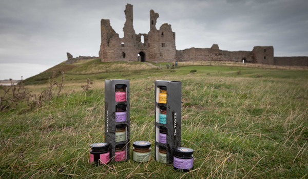 Packaging for Northumbrian Pantry