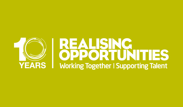 Celebrating 10 Years with Realising Opportunities